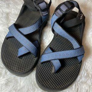Women's Chaco Blue Strap Sandals Size 7